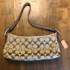 Patterned Coach Small Purse